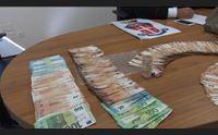 cagliari crocierista segnala spaccio trovati 14 kg di hashish e 65mila euro
