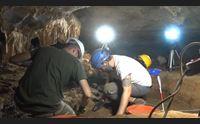 una necropoli nella grotta di nuxis scoperta straordinaria