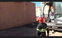 olbia demolizione dell ex caserma l ultimo saluto dei pompieri