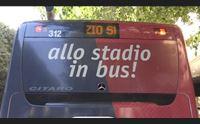 cagliari bus e metro rossobl allo stadio con i mezzi pubblici