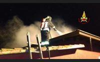 villamar incendio doloso nella villa confiscata la quarta volta