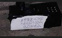cagliari allarme bomba in tribunale tracce di esplosivo e impronte