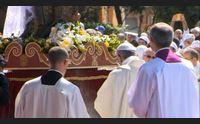 cagliari primo messaggio di don baturi sar vescovo a bonaria