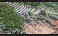 strada alghero bosa dopo le frane cede un canale sotterraneo