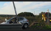 sassari auto contro guardrail muore un 36enne di sorso