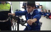 mogoro pedalando si impara l educazione stradale con i vigili