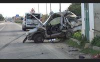 incidente sulla statale 387 ricoverato al brotzu un 39enne