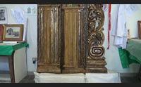 sassari risplende il restaurato altare ligneo del gremio dei sarti
