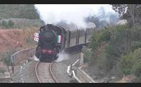 carbonia un viaggio d altri tempi in treno con la locomotiva a vapore