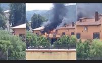incendi fotocopia a villamassargia uno dopo l altro soccorritori eroici