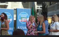 cagliari con azzurro donna forza italia sempre pi rosa