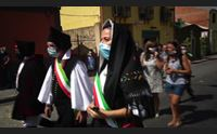 santadi celebrata sa coia maureddina edizione delle mascherine