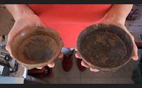 ceramiche a cipro simili a scodelle ritrovate a sardara e barumini nuragici non isolati
