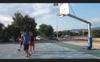 quartu il campo da basket del poetto distrutto dai vandali