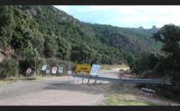olbia strada a rischio incompiuta sigilli al cantiere di monte pino