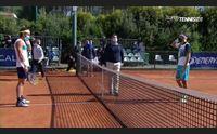 tennis atp di pula italiani sugli scudi musetti e cecchinato ai quarti
