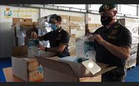 mascherine senza certificazioni vendute alla regione in manette imprenditore