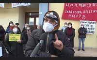 ussassai lo sciopero dei tamponi la singolare protesta dei cittadini