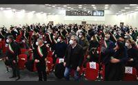 cagliari l assemblea dei sindaci contro le scorie il no di tutti i sardi