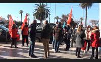la crisi degli aeroporti lavoratori in piazza i sindacati la regione intervenga