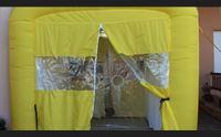 siurgus donigala inaugurata nelle rsa la prima tenda degli abbracci