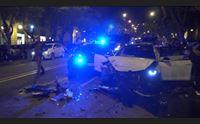 cagliari inseguimento nel largo carlo felice due carabinieri feriti
