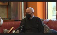 arzana zio attilio si vaccina a 98 anni per rivedere i miei coetanei