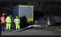 milis auto contro camion muore un commerciante di 41 anni