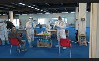 sardi e sicuri cagliaritani in fila per il test rapido e domani il vaccine day