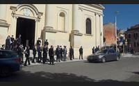 sassari la ministra luciana lamorgese ai funerali del prefetto carlo mosca