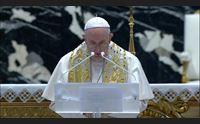 messa di pasqua da olbia e la benedizione urbi et orbi del papa