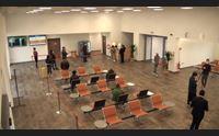 olbia pasqua di controlli a regime il centro per i test all aeroporto