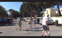 alghero l ospedale covid chiude l accesso alla spiaggia