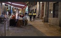 cagliari verso il giallo bar e ristoranti via libera ai tavolini nei parcheggi
