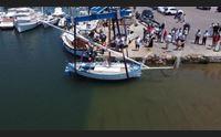 annina torna in mare un gozzo del 1920 ai campionati di vela latina