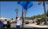torre grande 200 volontari per ripulire la spiaggia della bandiera blu