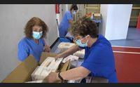ghilarza un hub per il guilcer inaugurato il punto di vaccinazione