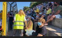 alghero hub vaccinale nel caos l allarme dei volontari