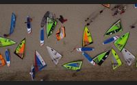 olbia spettacolo di vele al vento nel vivo i tricolori di windsurf